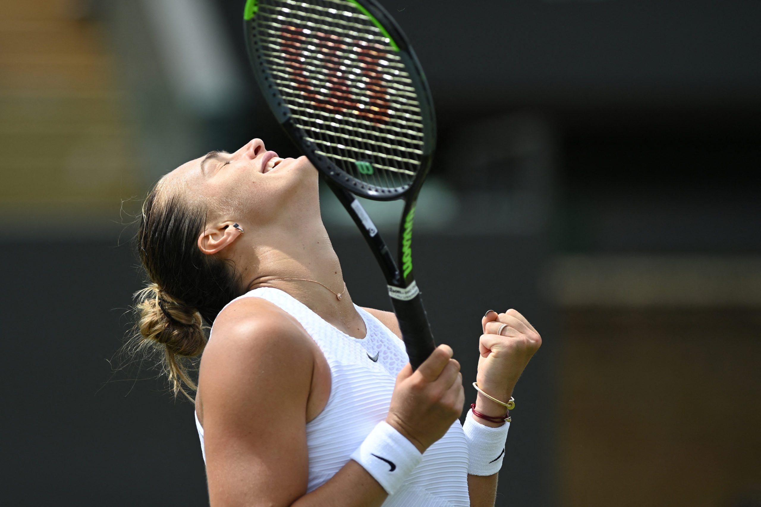 Wimbledon. Sabałenka i Pliszkova powalczą o finał