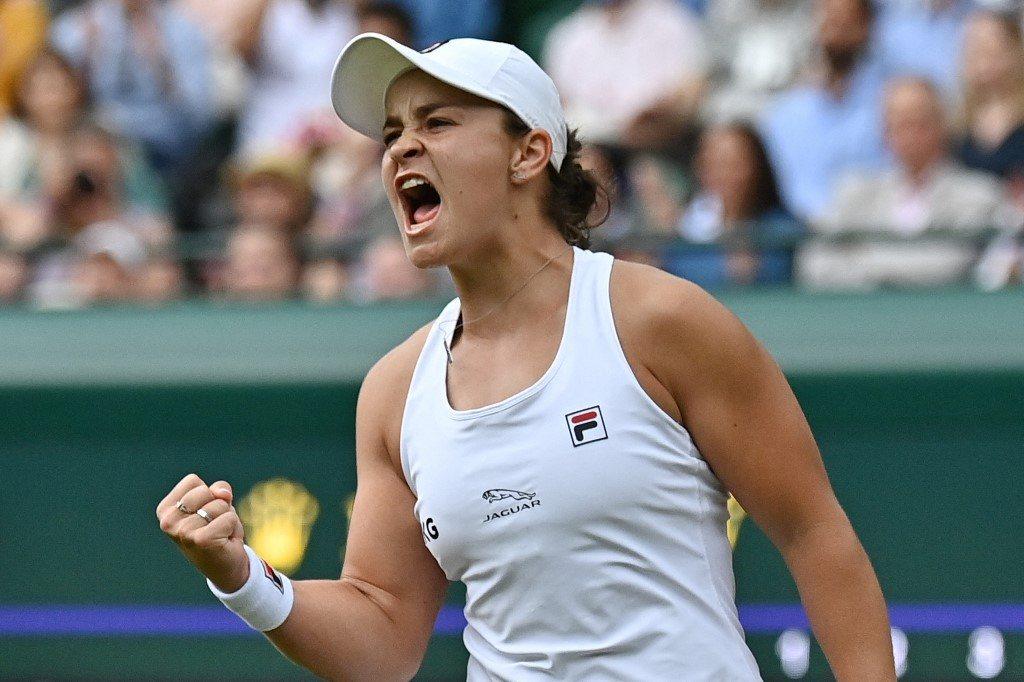 Wimbledon. Barty górą w pojedynku paryskich mistrzyń