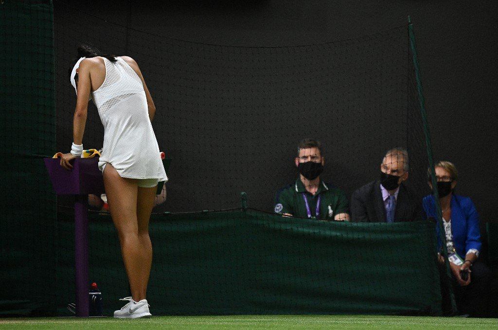 Wimbledon. Bolesny koniec pięknego snu