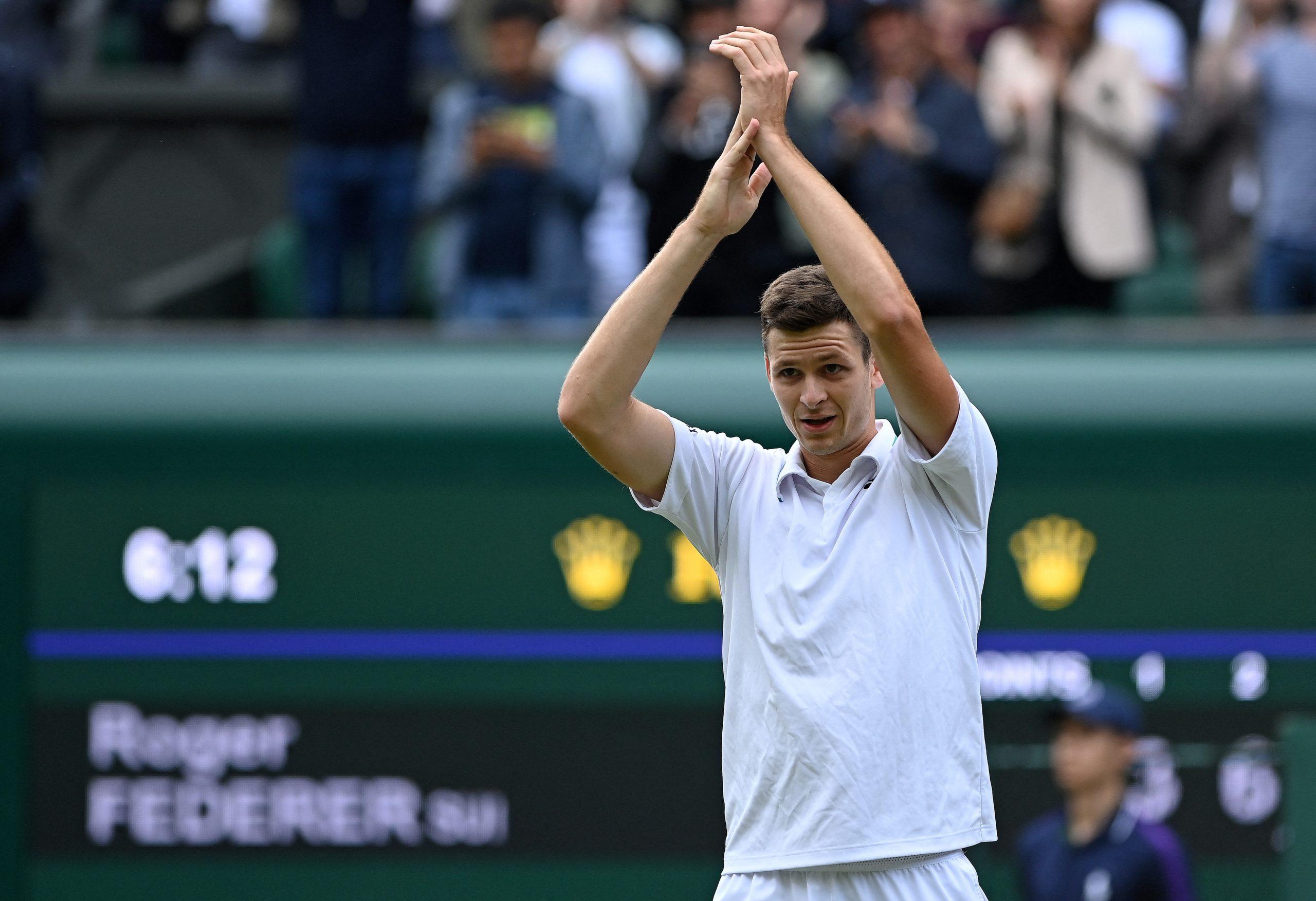 Hubert Hurkacz gra o finał Wimbledonu