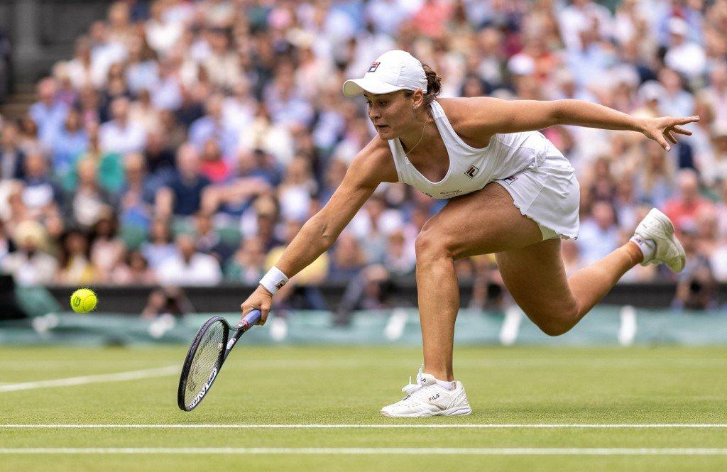 Wimbledon. Barty zatrzymała kontratak Kerber i zagra o tytuł