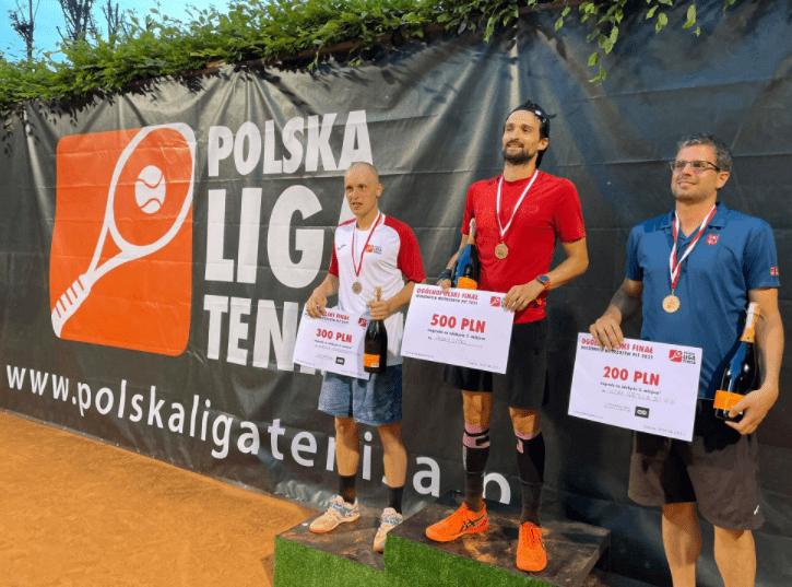 Polska Liga Tenisa. Lipka nie zwalnia tempa. Podsumowanie weekendu
