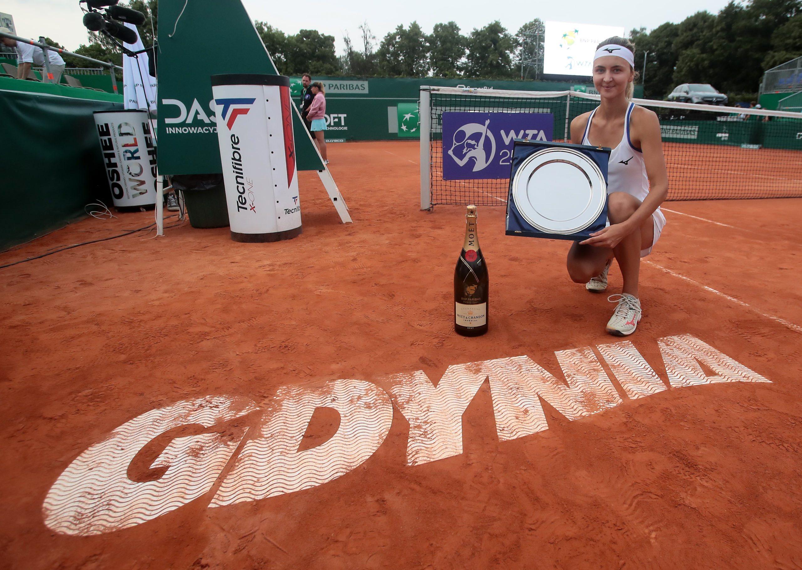 Gdynia. Zanevska pierwszą mistrzynią