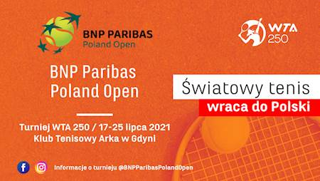 Audycja Tenisklub. Do wygrania będą bilety na turniej WTA w Gdyni!