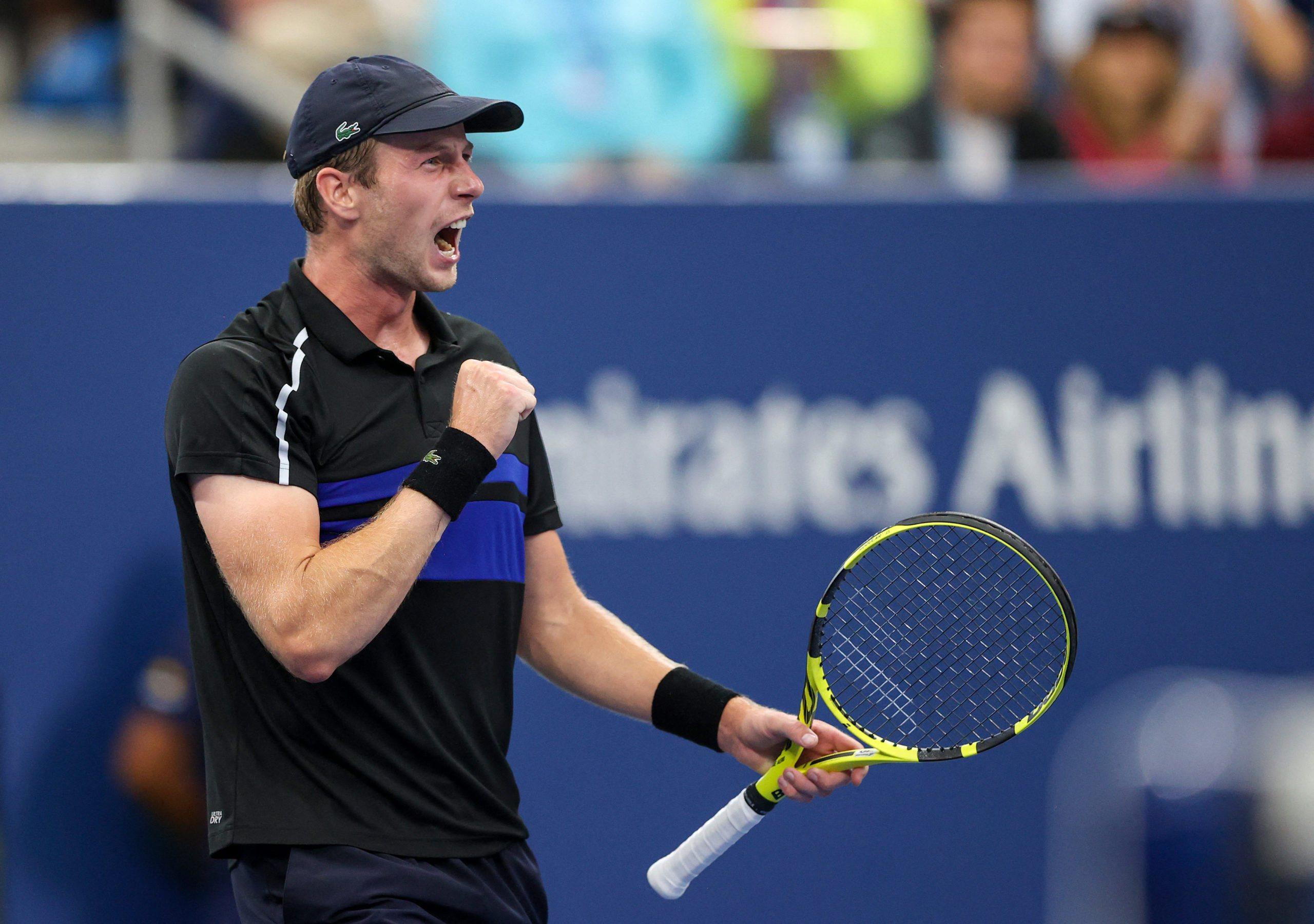 US Open. Sen Botica Van de Znadschulpa trwa
