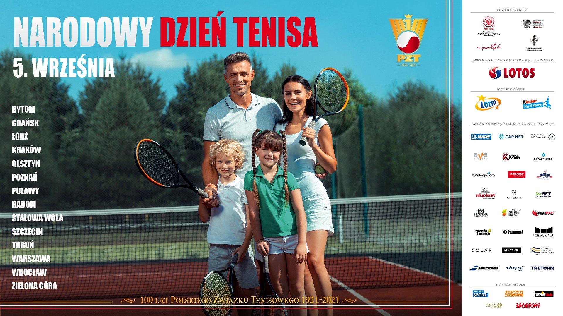 Narodowy Dzień Tenisa. Organizatorzy przygotowali mnóstwo atrakcji (szczegółowy program dla 14 miast)